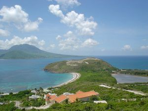 Could this be your view from St. Kitts?