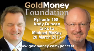 Michael McKay GoldMoney podcast