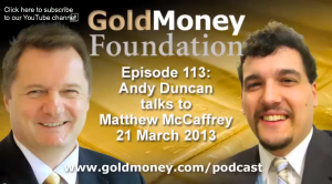 Matthew McCaffrey GoldMoney