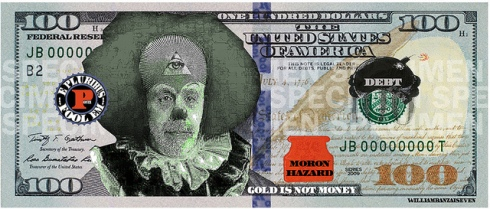 New Ben Bernanke 100 dollar bill